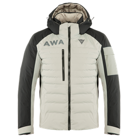 AWA BLACK JACKET CHATEAU-GRAY/STRETCH-LIMO- Piumini