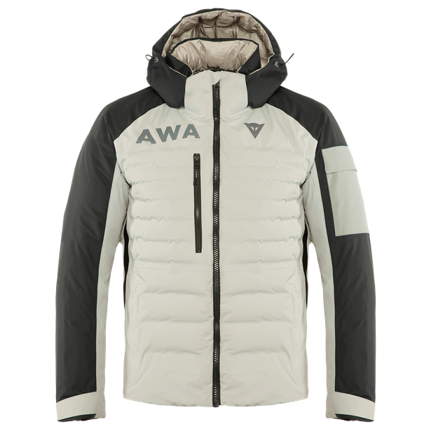 AWA BLACK JACKET CHATEAU-GRAY/STRETCH-LIMO- Downjackets