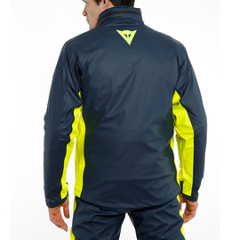 STORM 2 UNISEX JACKET BLACK-IRIS/FLUO-YELLOW- Impermeables
