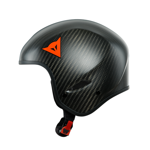 GT CARBON WC HELMET CARBON-MATT/RED-LOGO- Caschi