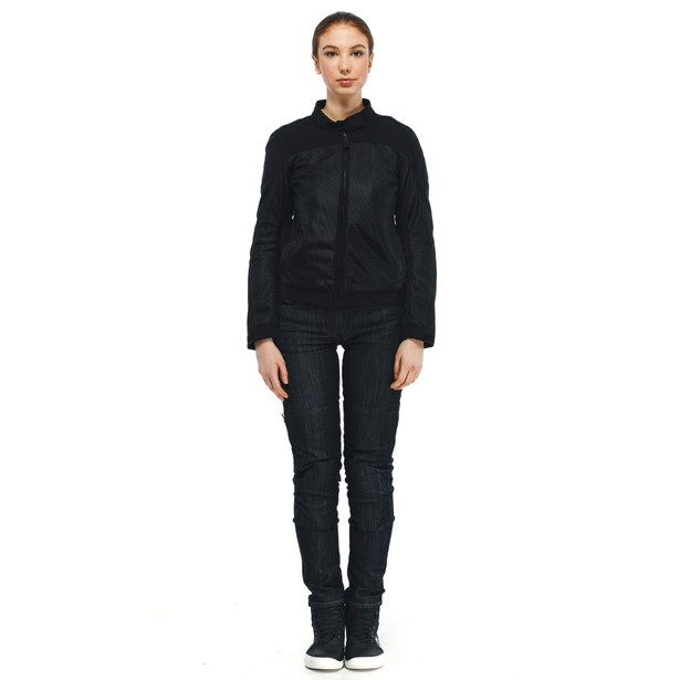 SEVILLA AIR LADY TEX JACKET BLACK/BLACK- Women Jackets