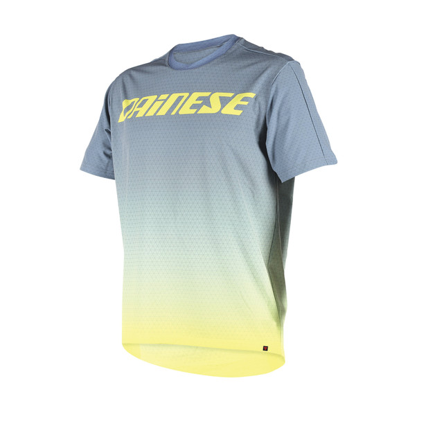 DRIFTEC TEE GREY/YELLOW- Jerseys