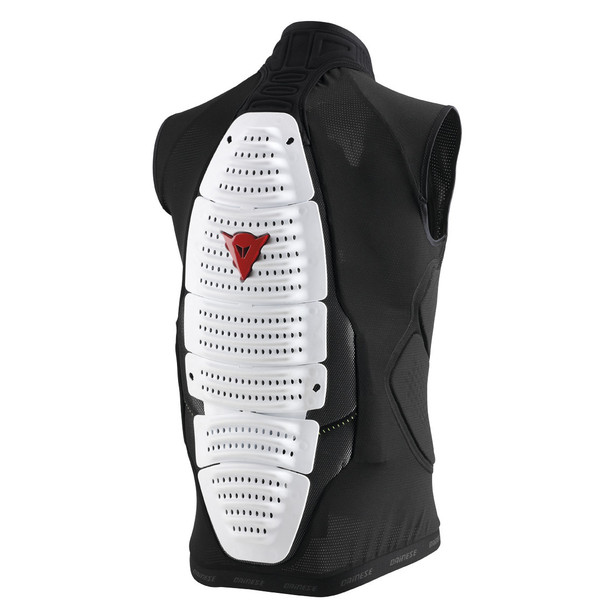 ACTION VEST PRO WHITE/BLACK- Back