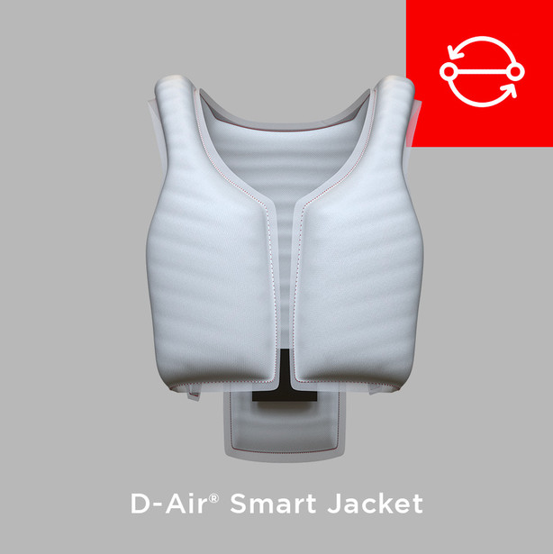 Cambio de la bolsa D-air® (Smart Jacket) - Servicios