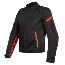 BORA AIR TEX JACKET BLACK/FLUO-RED