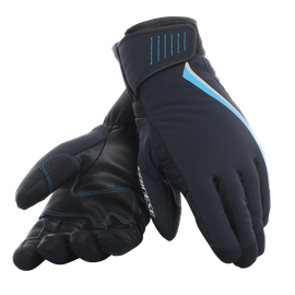 HP2 GLOVES LADY STRETCH-LIMO/BLUE-ASTER