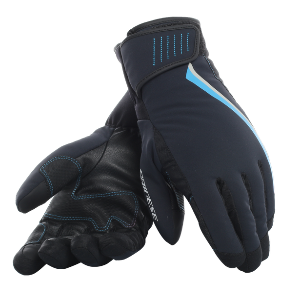 HP2 GLOVES LADY STRETCH-LIMO/BLUE-ASTER- Wintersports