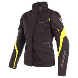 TEMPEST 2 D-DRY LADY JACKET BLACK/BLACK/FLUO-YELLOW- Jackets