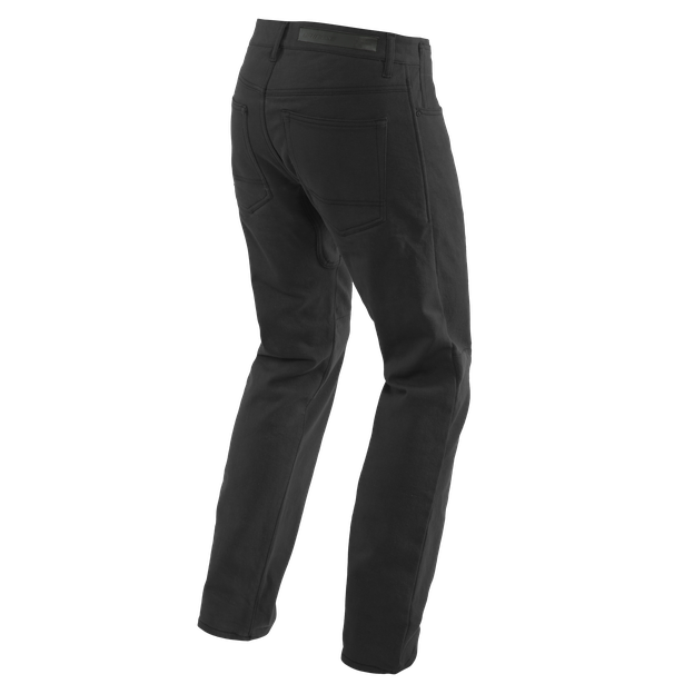 CASUAL REGULAR TEX PANTS BLACK- Pants