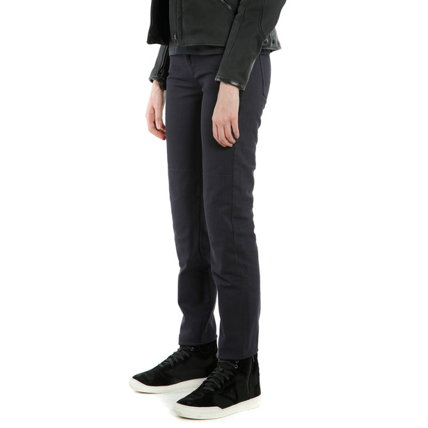 CASUAL REGULAR LADY TEX PANTS BLUE- Women