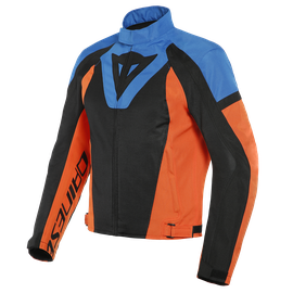LEVANTE AIR TEX JACKET BLACK/LIGHT-BLUE/FLAME-ORANGE- Giacche