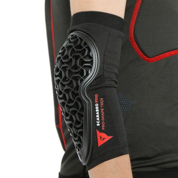 SCARABEO PRO ELBOW GUARDS BLACK- undefined