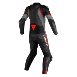 AVRO D2 2PCS SUIT BLACK/MATT-GRAY/LAVA-RED- Deux Pieces