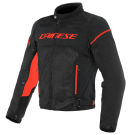 AIR FRAME D1 TEX JACKET BLACK/BLACK/RED-FLUO- Textile
