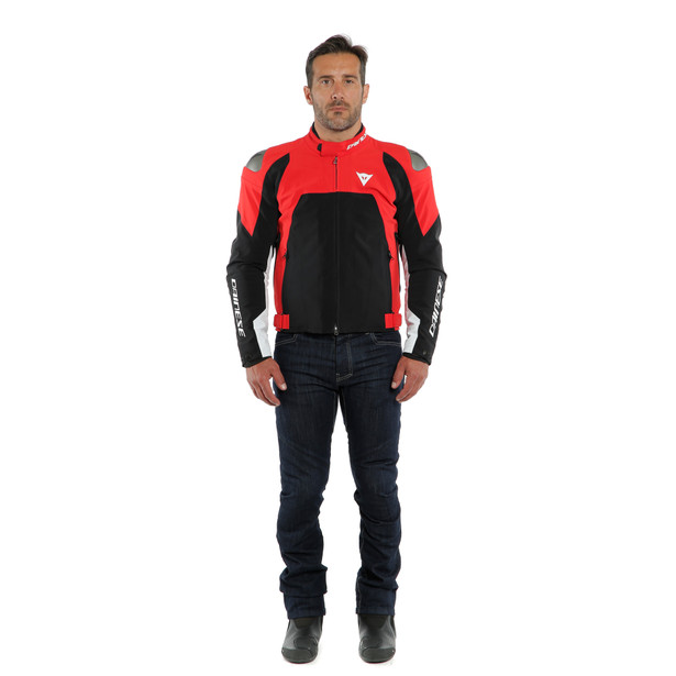 INDOMITA D-DRY XT JACKET LAVA-RED/BLACK-MATT/WHITE- D-Dry®