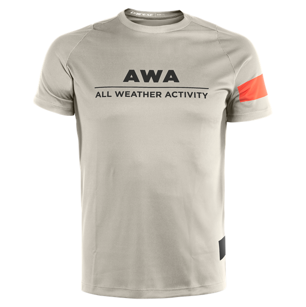 AWA TEE 1 CHERRY-TOMATO/SILVER-BIRCH/WHITE- Jerseys