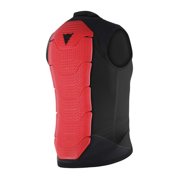 GILET MANIS 13 BLACK/RED-FLUO- Protection