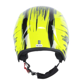 GT CARBON WC HELMET CARBON/FLUO-YELLOW- Helme