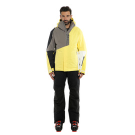 HP NEEDLE VIBRANT-YELLOW/CHARCOAL-GRAY/BLACK-TAPS- Jackets