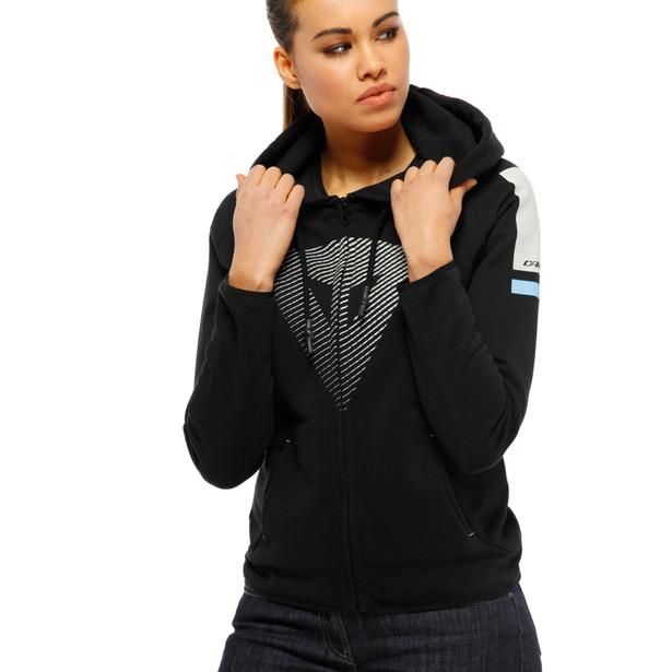FADE LADY FULL-ZIP HOODIE BLACK/COOL-GRAY/LIGHT-BLUE- Women Accessories
