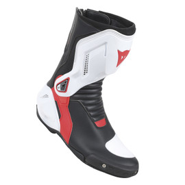 NEXUS BOOTS BLACK/WHITE/LAVA-RED- Leather