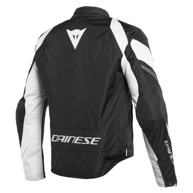EDGE TEX JACKET BLACK-MATT/WHITE/EBONY- Textil