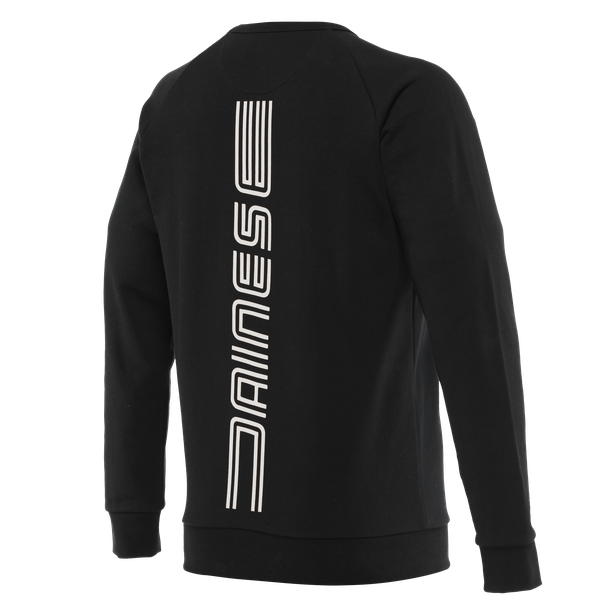 VERTICAL SWEATSHIRT BLACK/WHITE- Sweatshirts
