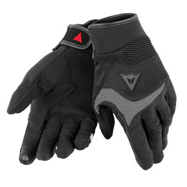 DESERT POON D1 UNISEX GLOVES BLACK/GRAY- Textil