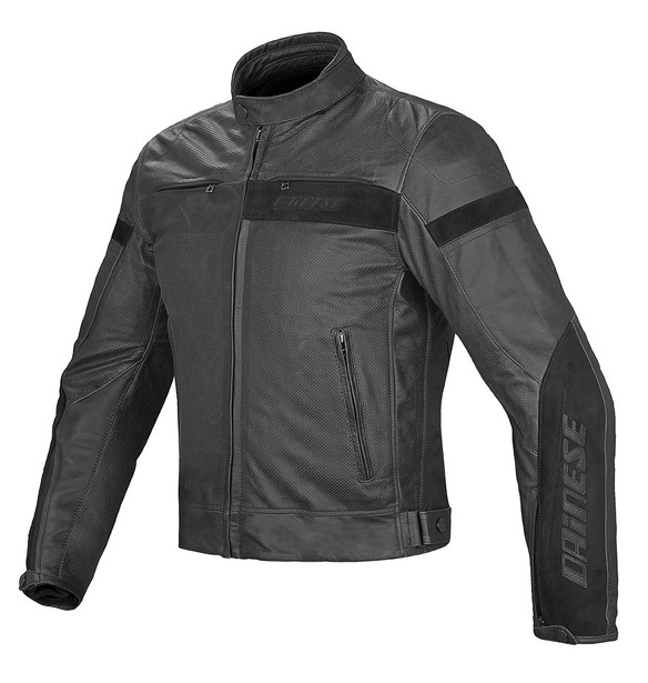 STRIPES EVO C2 PERF. LEATHER - Jackets