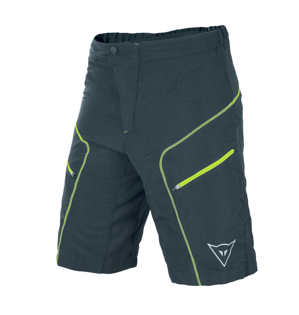 DRIFTER SHORT BLACK/FLUO-YELLOW- Pants