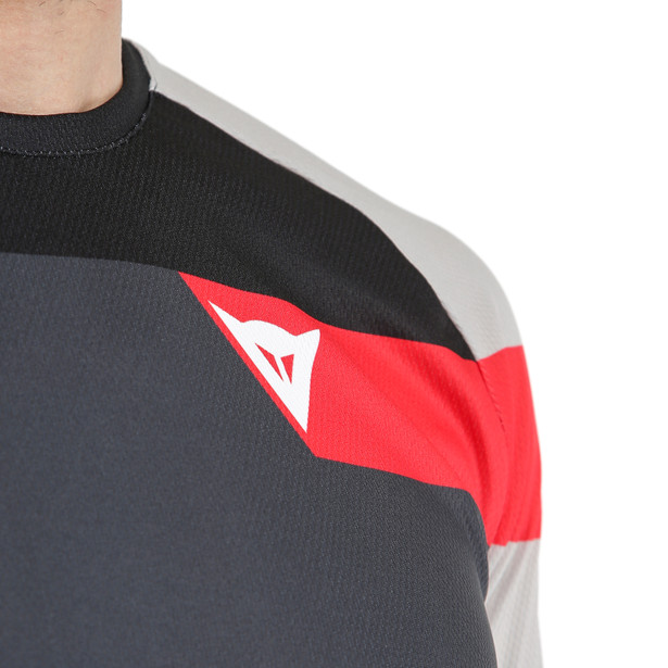 HG JERSEY 3 DARK-GRAY/FIRE-RED- Camisetas