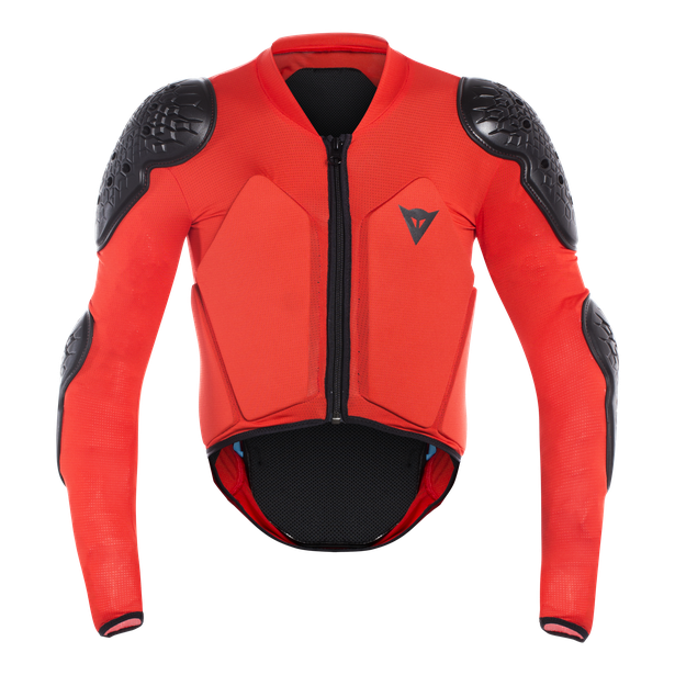 SCARABEO SAFETY JACKET BLACK/RED- Promotions bici