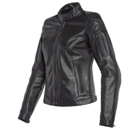 NIKITA 2 LADY LEATHER JACKET BLACK