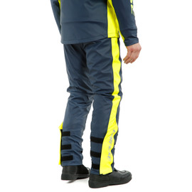 STORM 2 UNISEX PANTS BLACK-IRIS/FLUO-YELLOW- Antipioggia