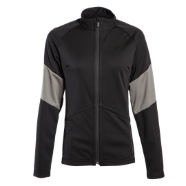 HP2 MID FULL ZIP LADY STRETCH-LIMO/GUNMETAL