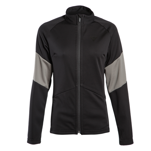 HP2 MID FULL ZIP LADY STRETCH-LIMO/GUNMETAL- Unterwäsche