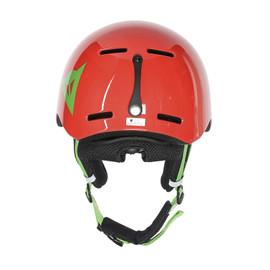 B-ROCKS HELMET LIGHT-RED/EDEN-GREEN- Helme