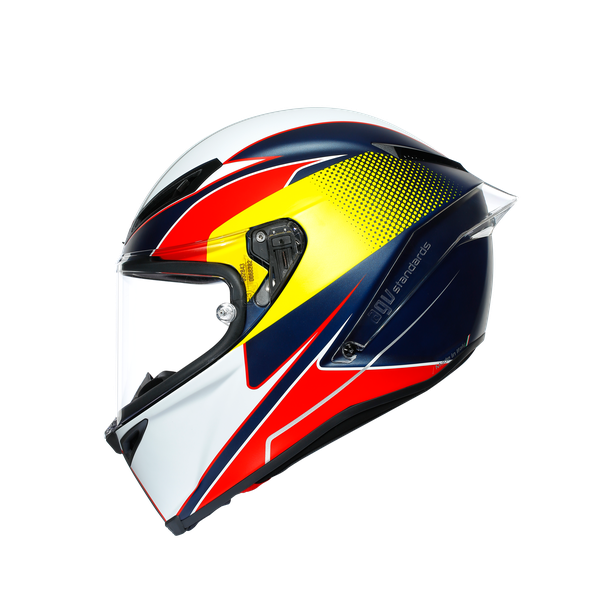 CORSA R E2205 MULTI - SUPERSPORT BLUE/RED/YELLOW - Full-face