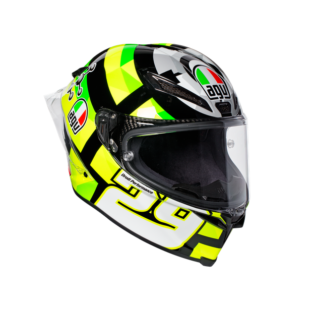 PISTA GP R REPLICA ECE2205 PLK - IANNONE 2017 CARBON  - Full Face