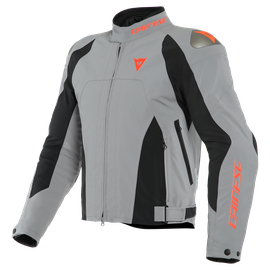 INDOMITA D-DRY XT JACKET FROST-GRAY/BLACK-MATT/FLUO-RED