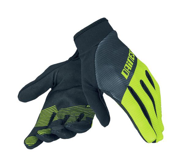 ROCK SOLID-C GLOVES BLACK/FLUO YELLOW/BLACK- Handschuhe