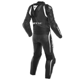 AVRO D-AIR 2PCS SUIT BLACK/BLACK/WHITE- Zweiteiler