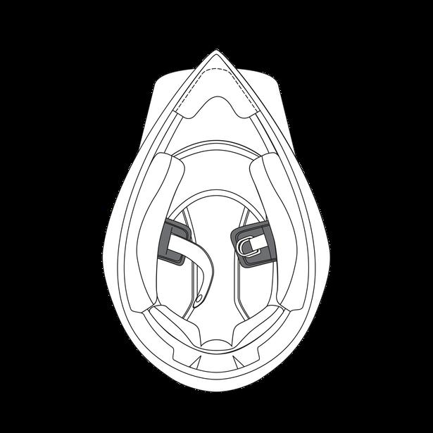 AGV CHIN STRAP PADS AX9 (S-MS) - Interiors