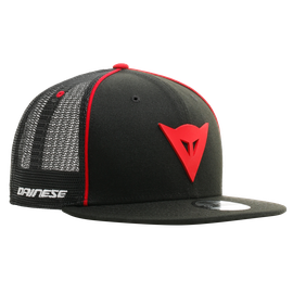 DAINESE 9FIFTY TRUCKER SNAPBACK CAP  BLACK/RED- Accessories