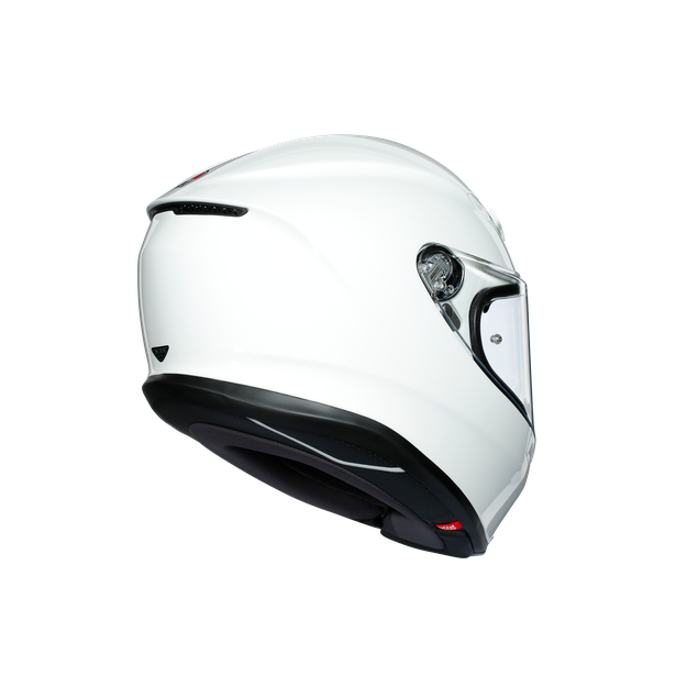 K6 ECE DOT MONO - WHITE - Full-face