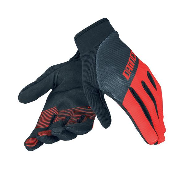 ROCK SOLID-C GLOVES BLACK/RED/BLACK- Handschuhe