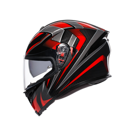 K-5 S MULTI ECE DOT - HURRICANE 2.0 BLACK/RED - K-5 S