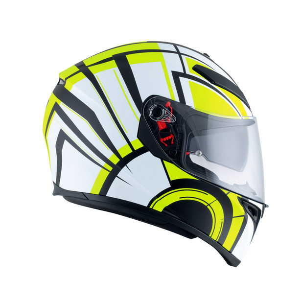 K-3 SV MULTI ECE DOT - AVIOR MATT WHITE/LIME - K-3 SV