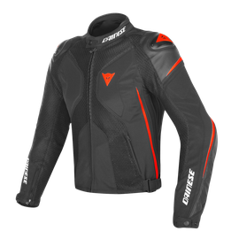 SUPER RIDER D-DRY JACKET BLACK/BLACK/RED-FLUO- D-Dry®