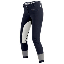 CIGAR PANTS LADY BLU-NAVY- Hosen